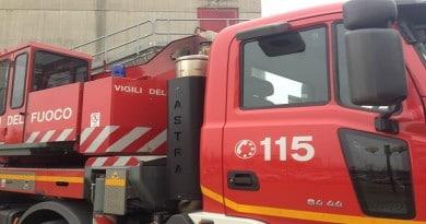 Vigili del Fuoco al lavoro in Val Resia, a fuoco una legnaia