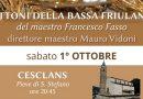 Concerto benefico a Cesclans pro terremotati del Centro Italia
