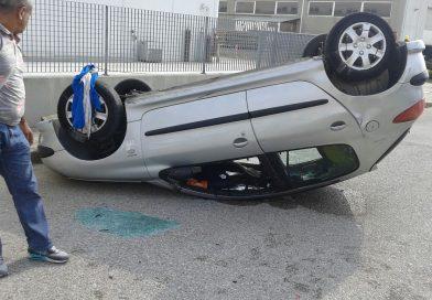 Schianto tra due auto nella zona artigianale di San Daniele