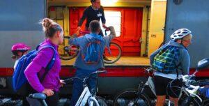Bici su Treno Micotra (foto da facebook Ulisse Fiab)