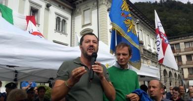 Lunedì Salvini ritorna a Tolmezzo, Paularo e a Gemona