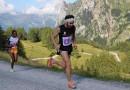 Nicolò Francescatto ai piedi del podio ai Campionati Italiani di skyrunning