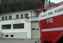 Macchinario a fuoco nella zona industriale di Tolmezzo
