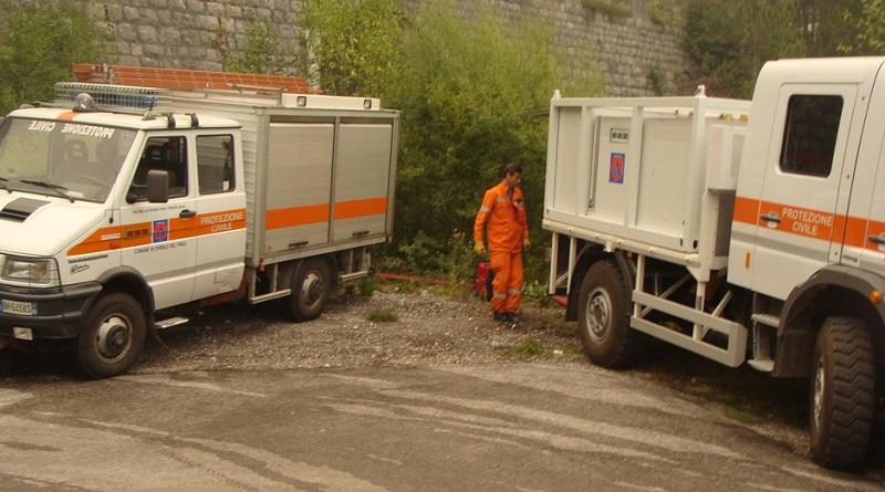 Spento l'incendio boschivo in Val Dogna