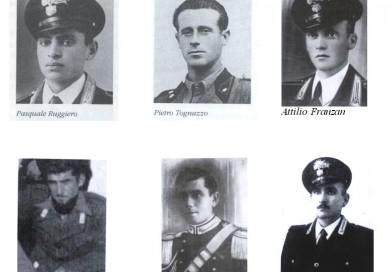 Sabato a Tarvisio l'omaggio ai Carabinieri trucidati a Malga Bala
