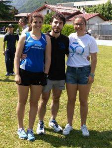 Elisa Iob, Alessandro Saccà e Irene Iob