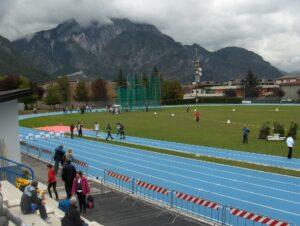 Il campo di atletica di Tolmezzo