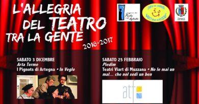 Teatro comico in friulano a Piedim di Arta Terme