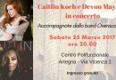 Una serata di country al femminile ad Artegna