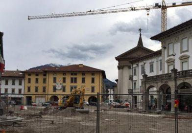 Piazza XX Settembre, le precisazioni del Comune di Tolmezzo