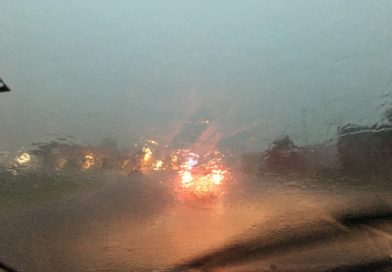 Maltempo, bufera di vento e piogge intense su tutto il Friuli