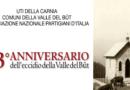 Tanti eventi per l'anniversario dell'Eccidio della Valle del But