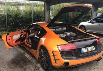 Audi R8 da 200 mila euro sequestrata lungo la A23 a Malborghetto