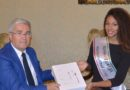 La Provincia di Udine omaggia Samira Lui, terza a Miss Italia