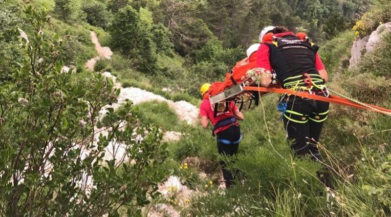 Soccorso un escursionista caduto sul Monte Scinauz nella Foresta di Tarvisio
