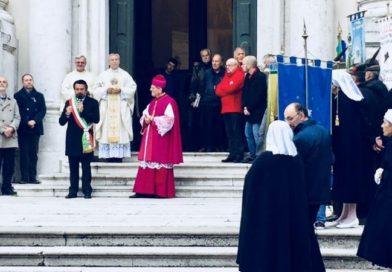 Il sindaco di Tolmezzo Brollo nel giorno del patrono San Martino: «Questa comunità ha un futuro»