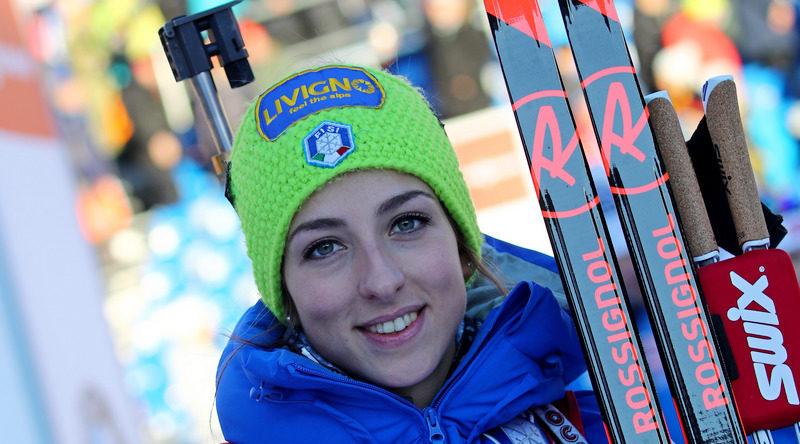 Lisa Vittozzi in testa alla classifica generale di Coppa del Mondo di biathlon