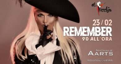 Nathalie Aarts dei Soundlovers special guest al Remember Picchio Rosso