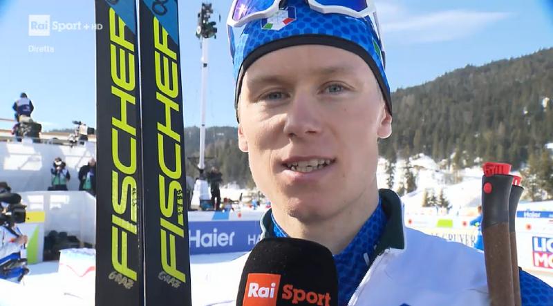Davide Graz sfiora la qualificazione alla finale della sprint dei Mondiali di sci nordico