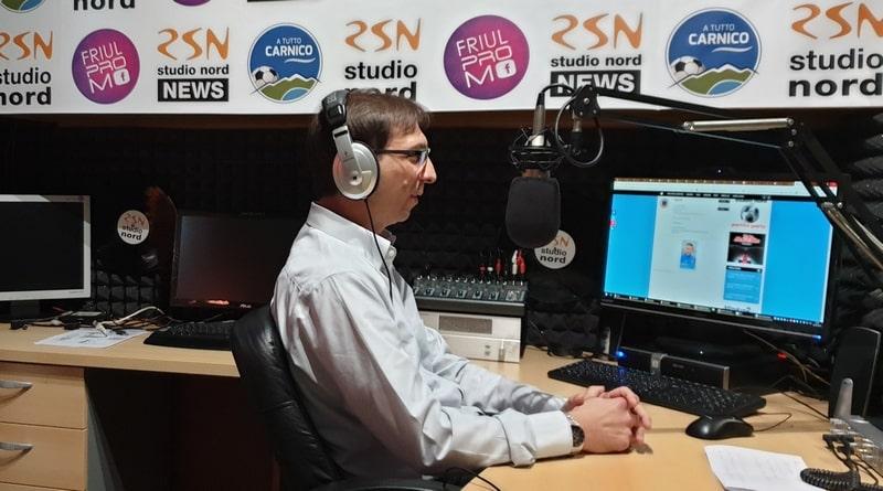 Il dottor Enrick Miani ospite a Radio Studio Nord