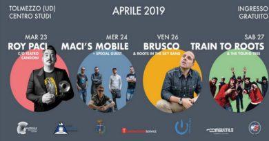 """Sei giorni di musica, fitness e gastronomia a Tolmezzo con """"Corpo & Musica 4.0"""""""