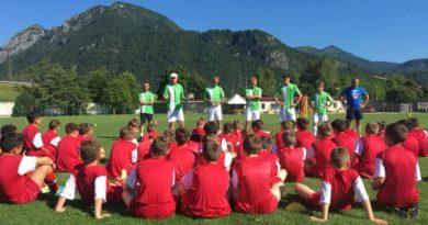 Esordio più che positivo per il Tolmezzo Football Camp