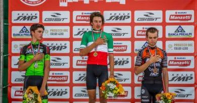 Il bujese Davide Toneatti argento Junior ai Campionati Italiani di Mtb