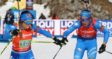 Non bastano Vittozzi e Wierer alla staffetta italiana ai Mondiali di biathlon