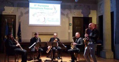 Oggi il gran finale del Pontebba Saxophone Festival