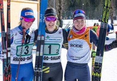 Martina Di Centa bronzo ai Campionati Italiani Under 20 di sci di fondo
