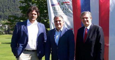 L'ambasciatore sloveno in Italia a Tarvisio, in primo piano i Mondiali di sci nordico 2023