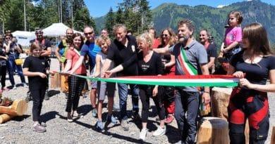 Inaugurata a Sauris la nuova Zipline lunga oltre 3 chilometri
