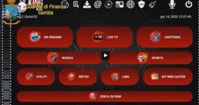 Pirateria audiovisiva e editoriale, la GdF di Gorizia oscura 58 siti web e 18 canali Telegram