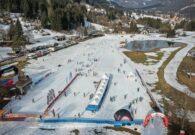 """Spogliatoi e servizi a supporto della """"Ski Arena Paruzzi"""" di Tarvisio"""
