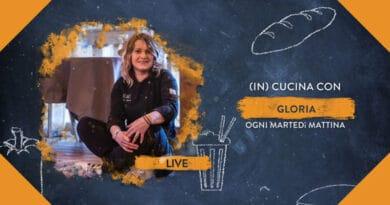 Le ricette della finalista di Masterchef Gloria Clama in diretta su RSN
