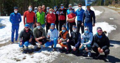 I futuri Maestri di sci di fondo si formano in Val Pesarina