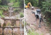 Pontebba, due interventi per la sistemazione del rio Santa Maria
