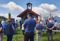 Commemorate a Malga Pramosio le vittime dell'eccidio del 21-22 luglio 1944