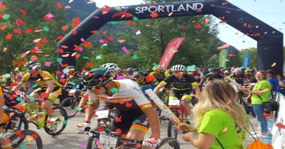 Al Lago dei Tre Comuni lo spettacolo della Sportland Marathon Bike