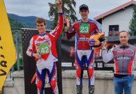 Giacomo Brunisso vince la terza tappa del Triveneto Trial, terzo Luca Craighero del MC Carnico