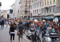In 10 mila a Trieste contro il Green Pass