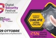 Ultimi webinar al Digital Security Festival, la sicurezza informatica spiegata semplice